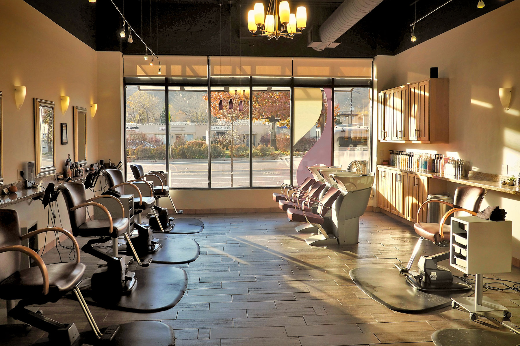 Hair salon boulder